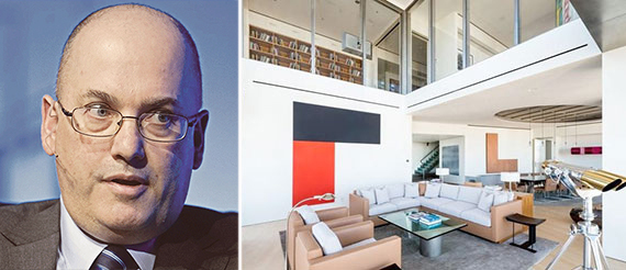 Steve Cohen and his One Beacon Court penthouse in Midtown East