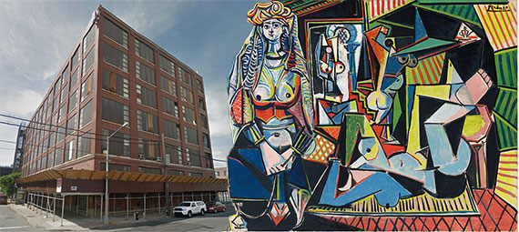"131 Walnut Avenue and Picasso's ""Les Femme d'Alger"""
