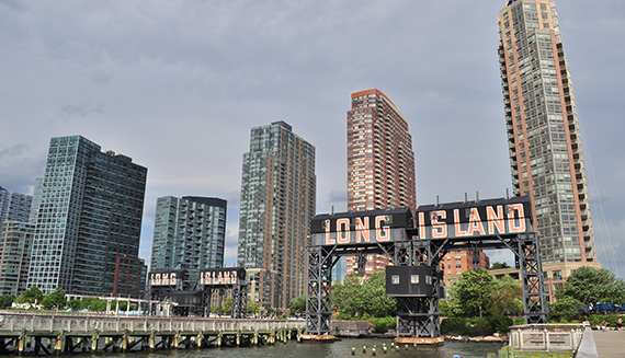 Rental towers in Long Island City