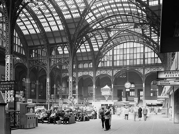 Lost Buildings Historic Nyc Buildings Old Penn Station