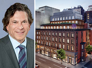 From left: Daniel Straus and the Whitney Condos at
