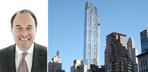 From left: Gary Barnett and One57 in Midtown