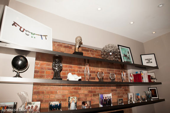 rows-of-shelves-display-and-a-shot-with-an-undisclosed-client-on-a-yacht-in-ibiza