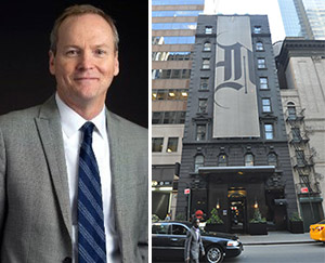 Rick Chandler and 132 West 45th Street