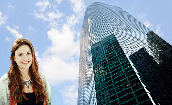 Chloe and Isabel founder Chantel Waterbury and 180 Maiden Lane in the Financial District