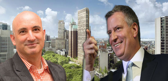 David Kramer, the Brooklyn library redevelopment and Mayor Bill de Blasio