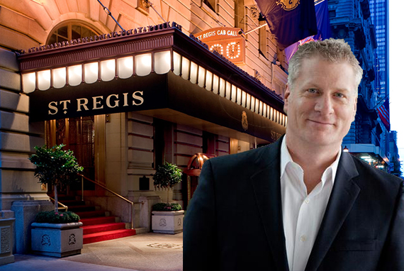 The St Regis Hotel in Midtown and Starwood's Tom Mangas