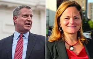 Bill de Blasio Melissa Mark-Viverito