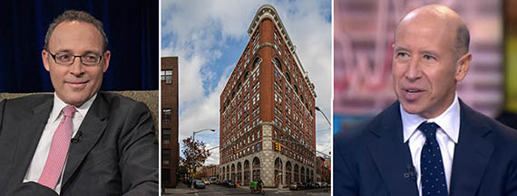 From left: Miki Naftali, 275 West 10th Street and Starwood's Barry Sternlicht