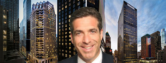 Rob Martin with 31 West 52nd Street and 1633 Broadway