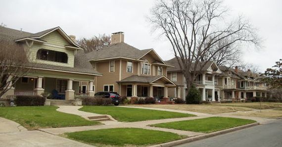 Munger Place in Dallas, Texas (credit: Activerain)