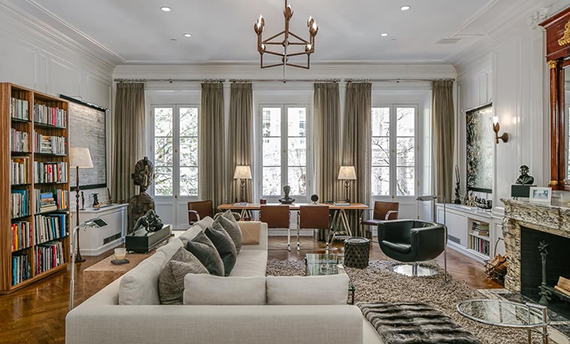 Inside 12 East 62nd Street in the Upper East Side