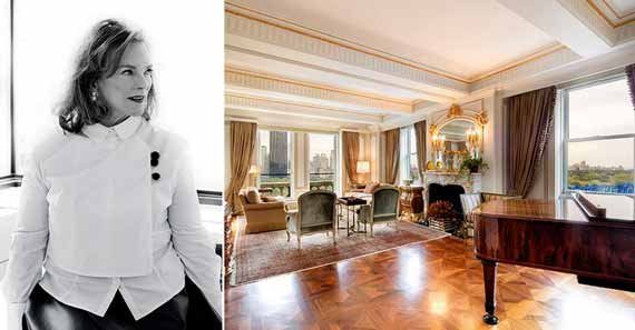 Kathy Sloane (Photo: STUDIO SCRIVO and the penthouse at the Sherry Netherland)