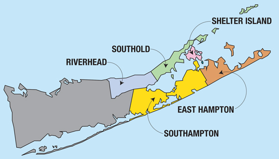 Map of Hamptons - TripAdvisor