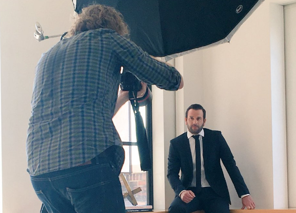 Compass chairman Ori Allon in a photo shoot the week before the firm announced its Series D