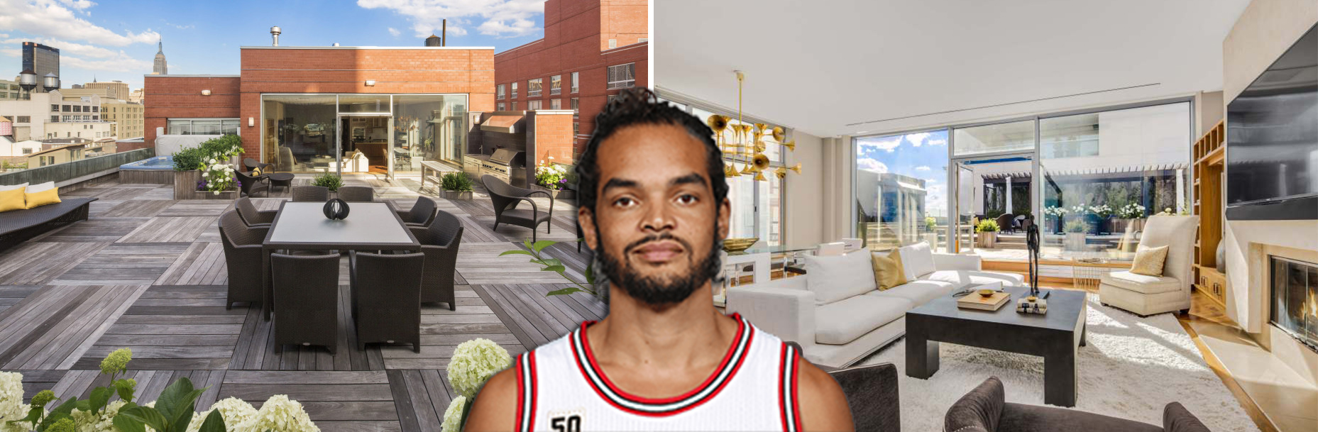 55 West 23rd Street in Chelsea and Joakim Noah