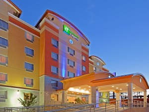 The Holiday Inn Express at 59-40 55th Road in Maspeth, Queens