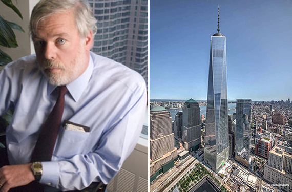 From left: Port Authority's Pat Foye and 1 World Trade Center