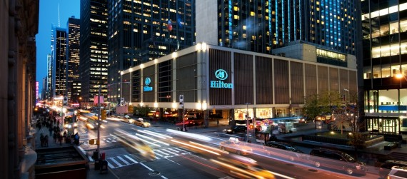 The Hilton Midtown at 1335 Sixith Avenue
