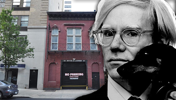 159 East 87th Street on the Upper East Side and Andy Warhol