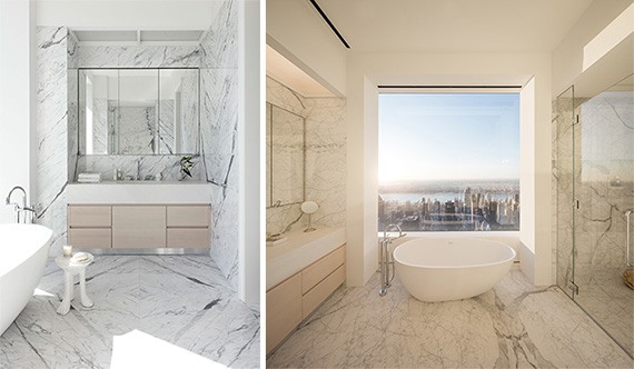 Bathrooms at 432 Park Avenue