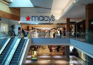 Macy's entrance at Westfield Wheaton in Wheaton, Maryland