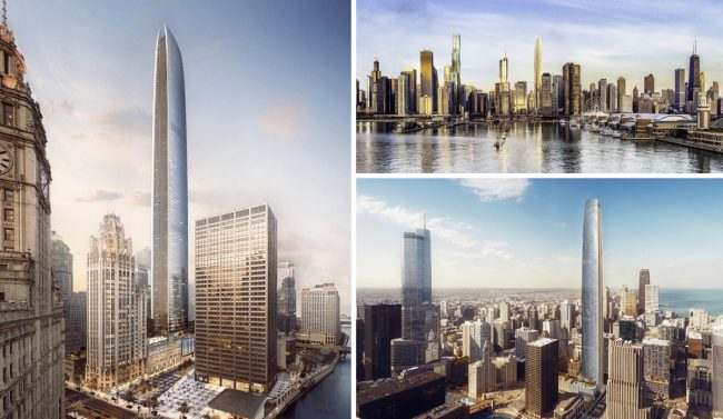 Developers reveal plans for 1422-foot-tall skyscraper in Chicago