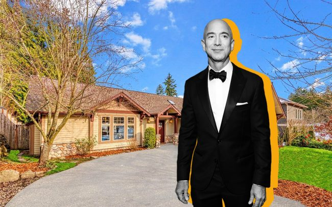 Home where Jeff Bezos launched Amazon for sale