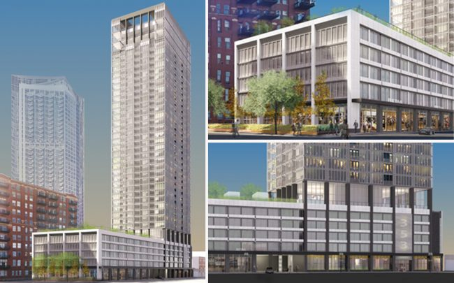 Renderings of 353 West Grand Avenue