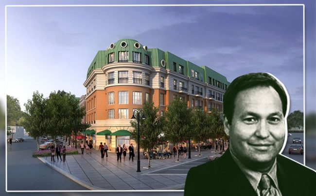 One Winnetka rendering and developer David Trandel