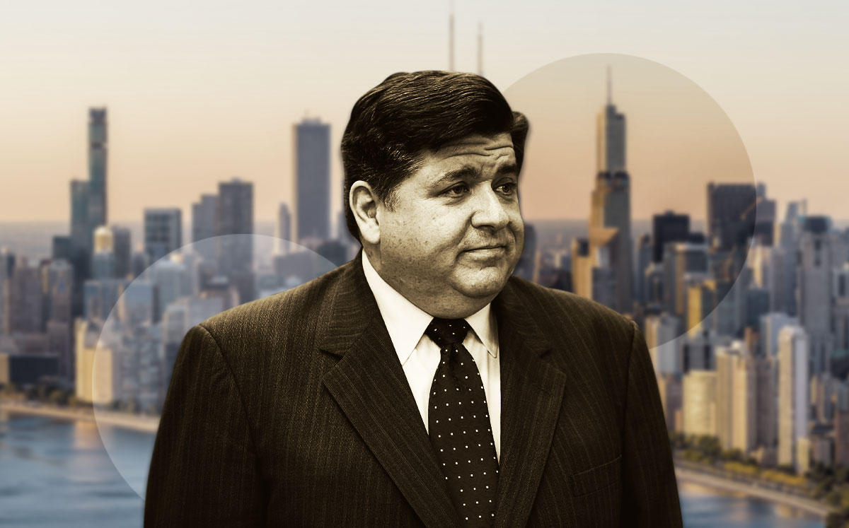Governor of Illinois J. B. Pritzker (Credit: Joshua Lott/Getty Images)