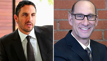 Mauricio Umansky and Billy Rose of the Agency
