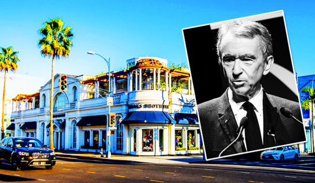 CEO of Louis Vuitton, Bernard Arnault, Buying Rodeo Drive Double-lot for $250 Million