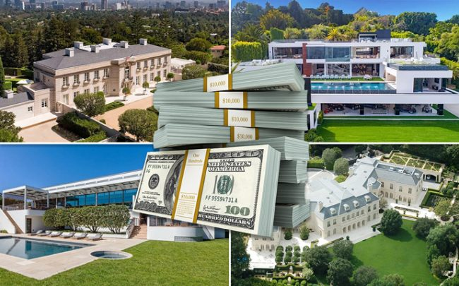 Four current sales (Credit: iStock, Wikipedia, and Westside Estate Agency)