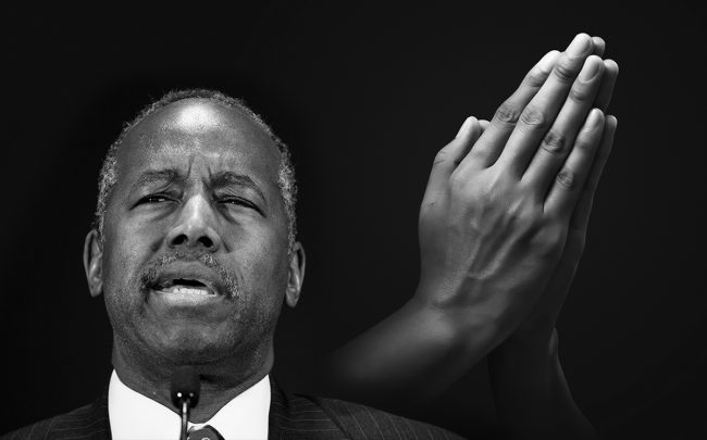 Ben Carson wants religion to help homeless