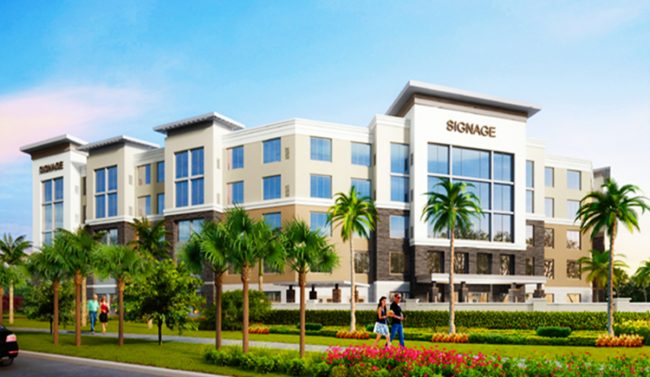 Brock development scores loan breaks ground on palm beach gardens hotel brought to you by for Palm beach gardens property appraiser