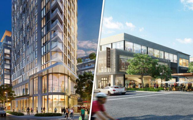Renderings of Sunset Place