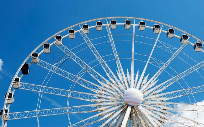 A Sky Views of America observation wheel (Credit: iStock)