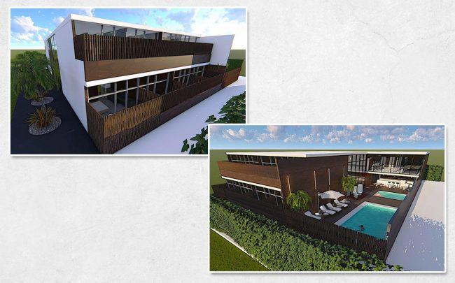 Renderings of the project