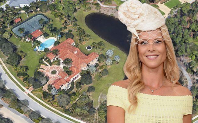 12251 Tillinghast Circle and Elin Nordegren (Credit: Google Maps and Gustavo Caballero / Getty Images)
