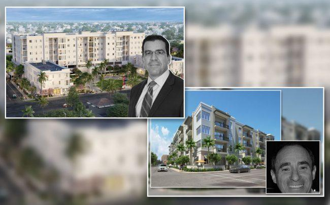 Image of two apartment complexes to be built in Lake Worth Beach