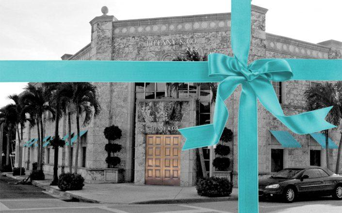 The Palm Beach Tiffany & Co. building sold for over $26M. (Getty)