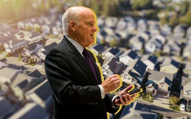 KKR Co-CEO Henry Kravis (Credit: Getty Images and iStock)