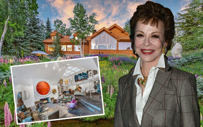 Nancy Magoon and her Aspen home (Credit: Getty Images, Douglas Elliman)