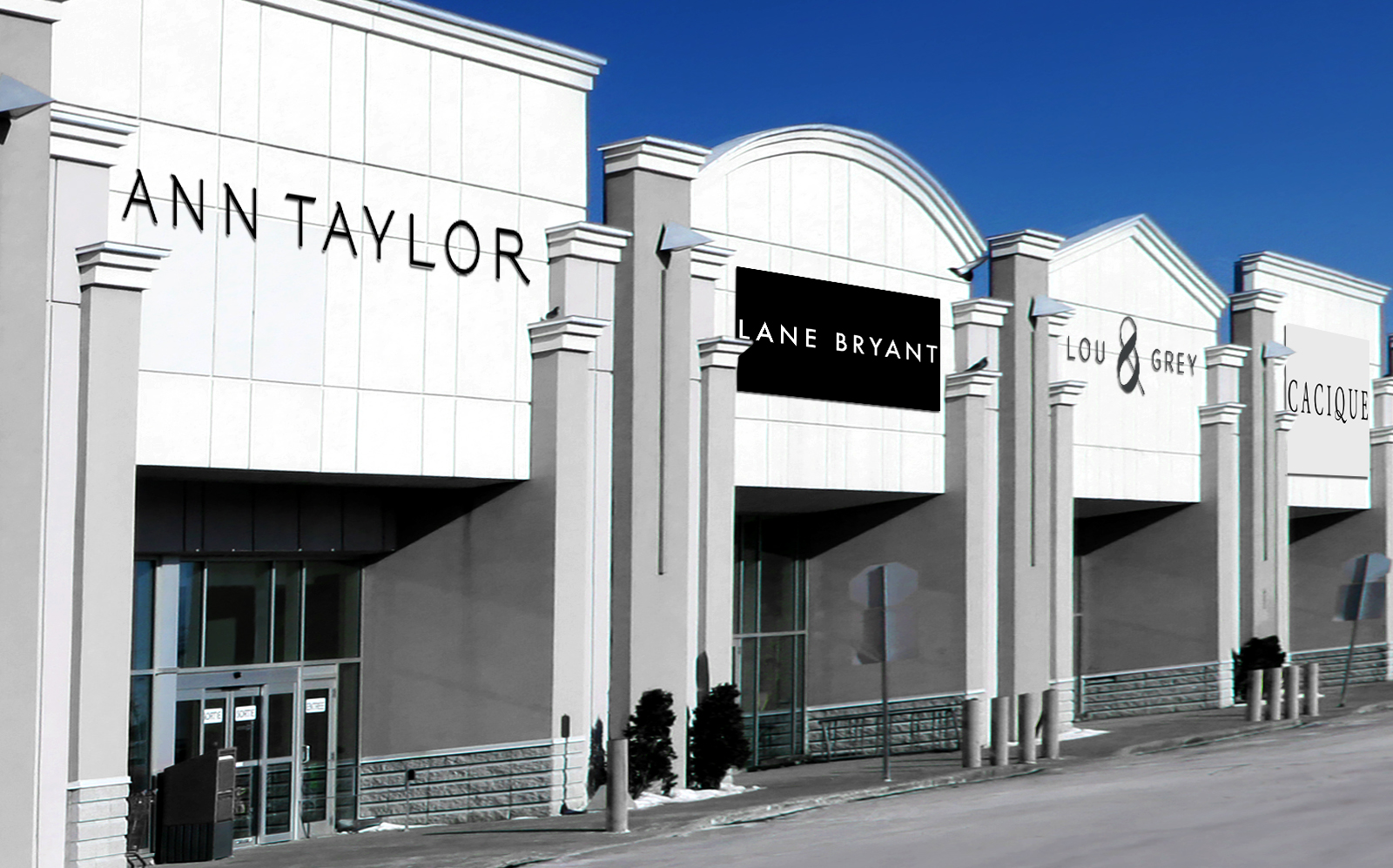 Ascena owns Ann Taylor, Lane Bryant, Lou & Grey and Cacique. (Getty)
