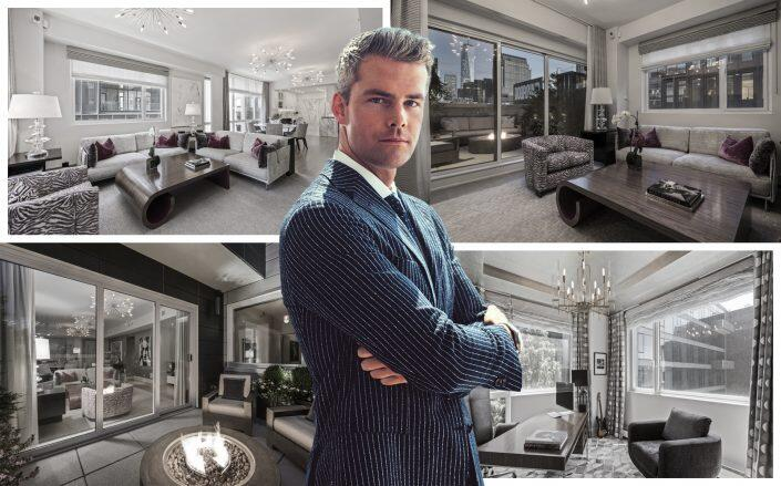 Celebrity broker Ryan Serhant is renting his Hudson Square penthouse. (Serhant)