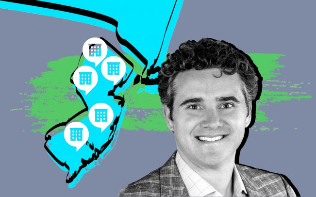 Zillow Group's New York General Manager Matt Daimler (Credit: Twitter and iStock)
