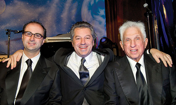 From left: Andrew Mathias, Marc Holliday and Stephen Green (Credit: Steve Friedman)