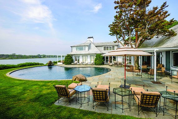 20-30 West End Road in East Hampton, which is listed for $75 million with Sotheby's