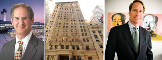 From left: David Sigman, 25 Broad Street and Kent Swig